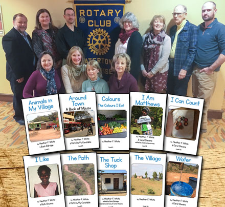 10 New MELT Titles thanks to Rotary Grant